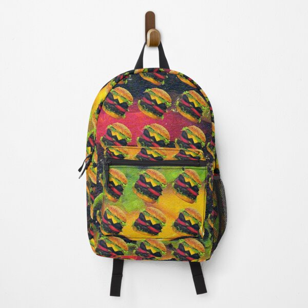 Double Deluxe Hamburger with Cheese, RBSSG Backpack