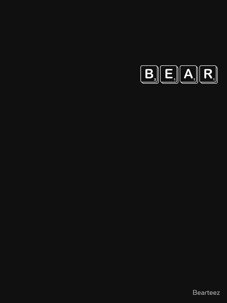 Scrabble Bear by Bearteez