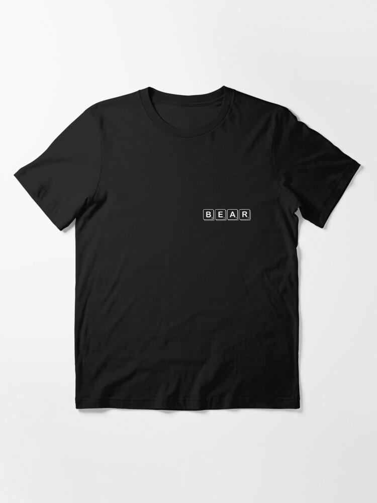Alternate view of Scrabble Bear Essential T-Shirt