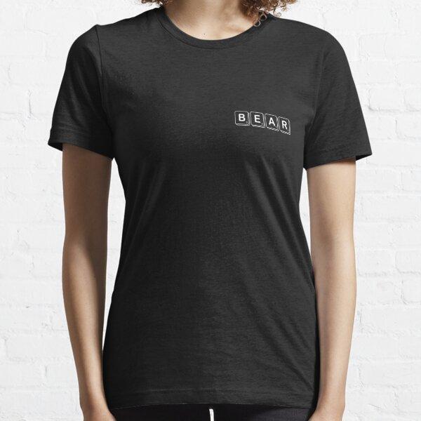 Scrabble Bear Essential T-Shirt