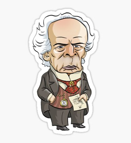 Sir Wilfrid Laurier, Prime Minister of Canada Sticker