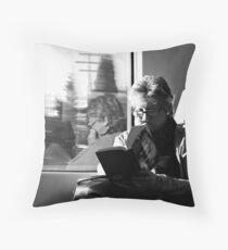 Absorbed .. Throw Pillow