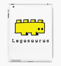 Legosaurus funny nerd geek geeky iPad Case/Skin