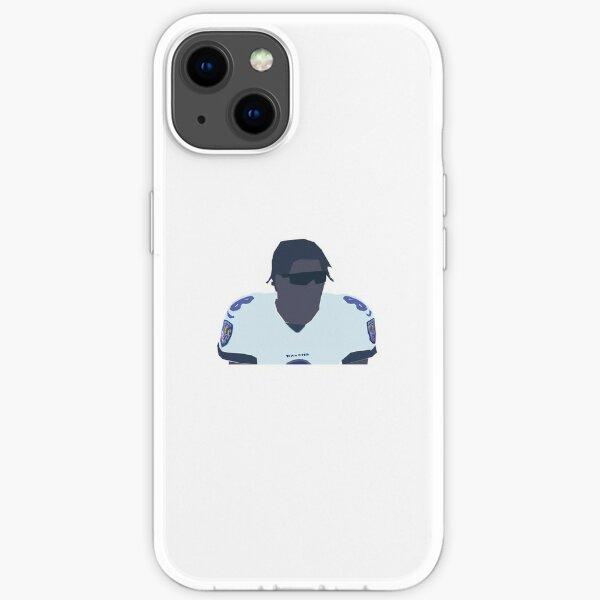 Lamar Jackson Drawing iPhone Soft Case