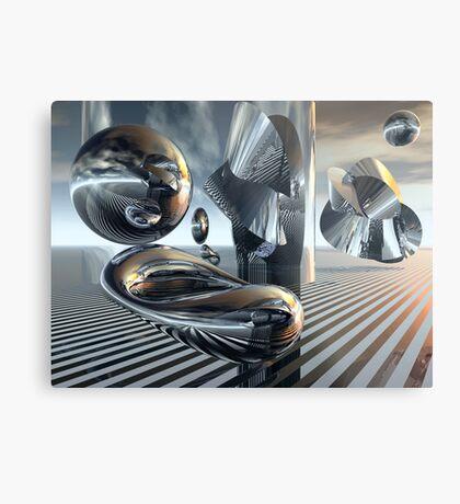 Phython & Endymion Metal Print