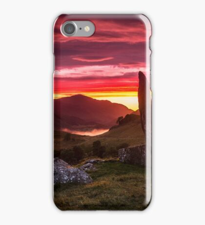 Praying in the Valley of the Sun God iPhone Case/Skin