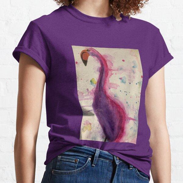 Watercolour Flamingo  Classic T-Shirt