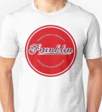 Franklin Engine Company Logo Slim Fit T-Shirt