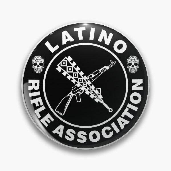 Latino Rifle Association Vintage Logo Pin