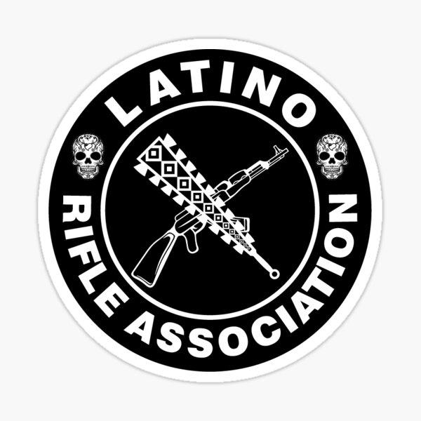 Latino Rifle Association Vintage Logo Sticker