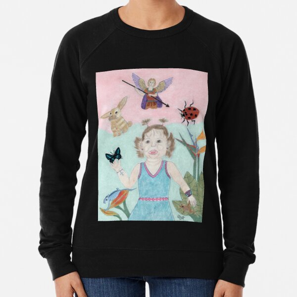 A Child's Light Lightweight Sweatshirt