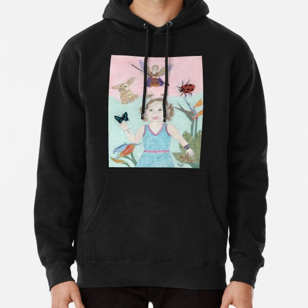 A Child's Light Pullover Hoodie