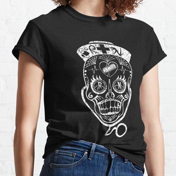 bavoirs Sugarskull #7 Woman T Shirt Transfert Sacs Et Coussins