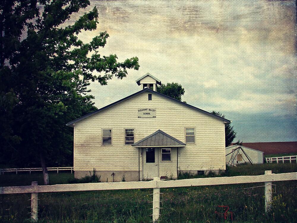 Pleasant Valley Rural School by angelandspot