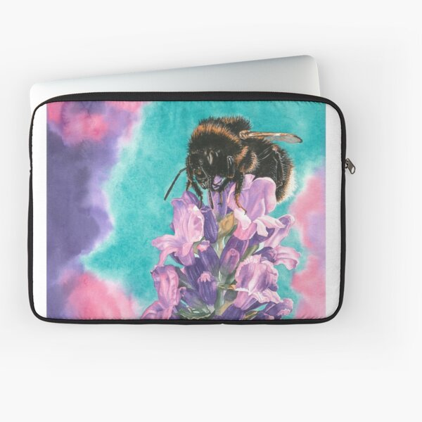 Lavender Bee Dilly Dilly Laptop Sleeve