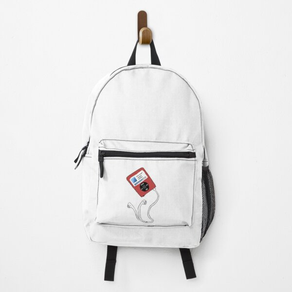 Music Player with Headphones Backpack