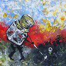 Golf Jar by Ellen Marcus