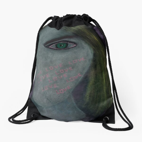 Expressing Love Drawstring Bag