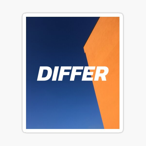 DIFFER Sticker