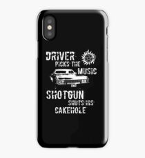 Driver Picks the Music iPhone X Case
