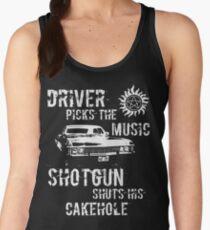 Driver Picks the Music Women's Tank Top