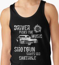 Driver Picks the Music Tank Top