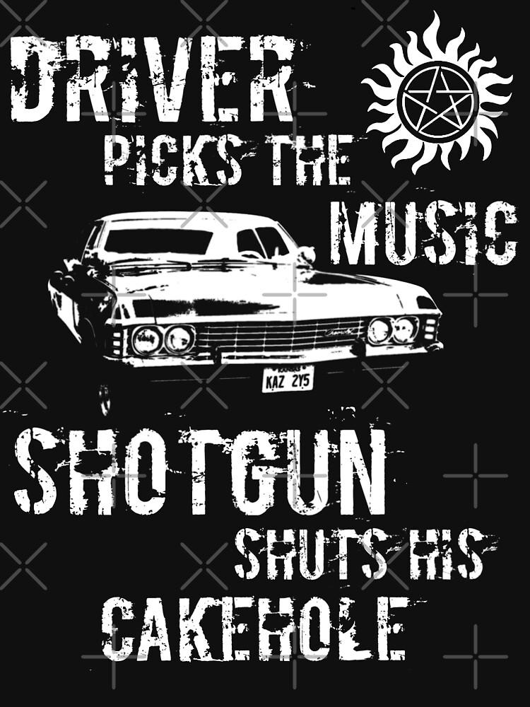 TShirtGifter presents: Driver Picks the Music | Unisex T-Shirt