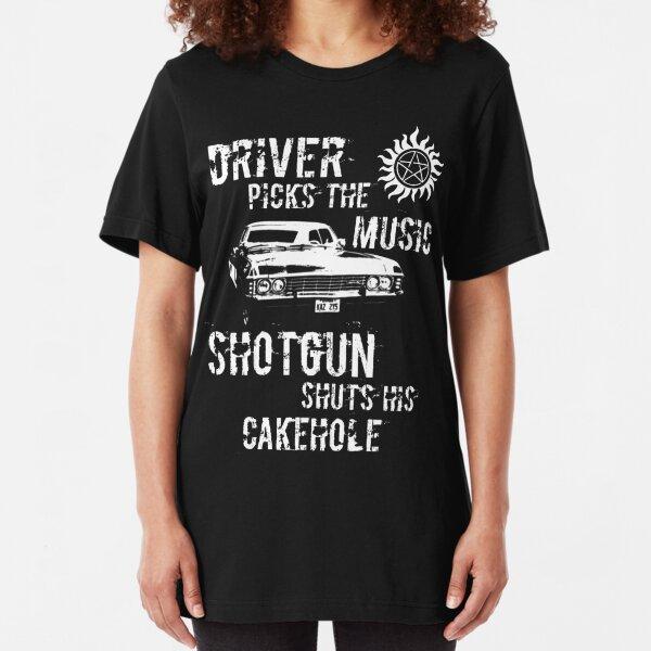 Driver Picks the Music Slim Fit T-Shirt