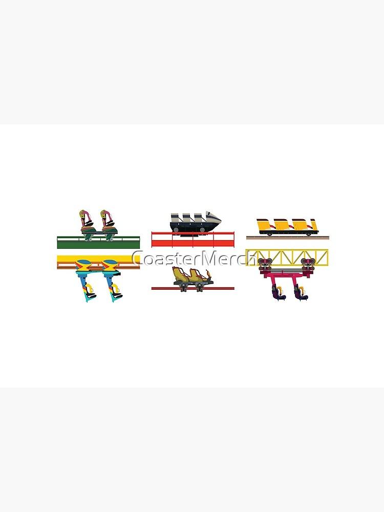 Dorney Park Coaster Cars Design by CoasterMerch