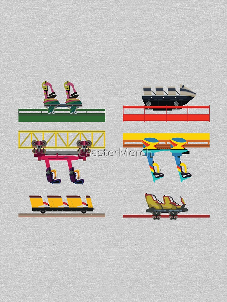 Dorney Park Coaster Cars Design by CoasterMerch