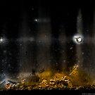 Christmas Star over the Manger by Susana Weber