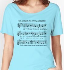 Get Dressed You Merry Gentlemen! Women's Relaxed Fit T-Shirt