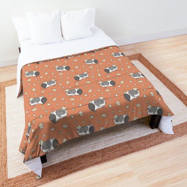 Guinea pig pattern, popcorning  Comforter