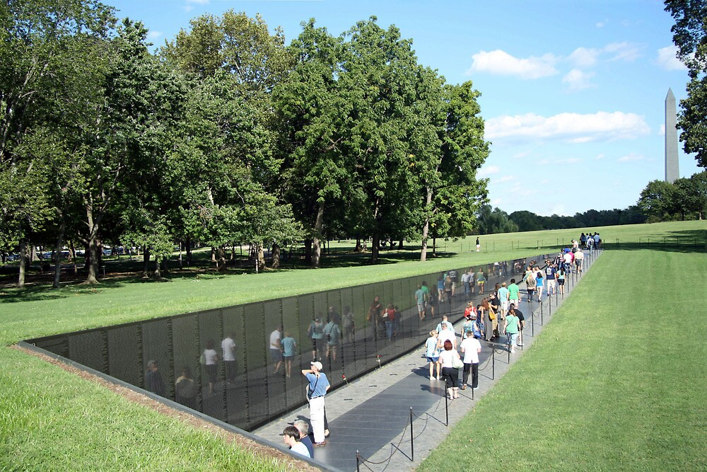 People At The Wall by Cora Wandel