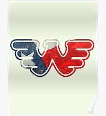 Texas Flying W Poster