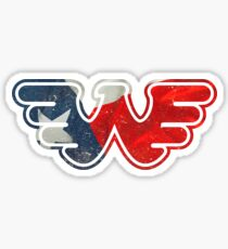 Texas Flying W Sticker