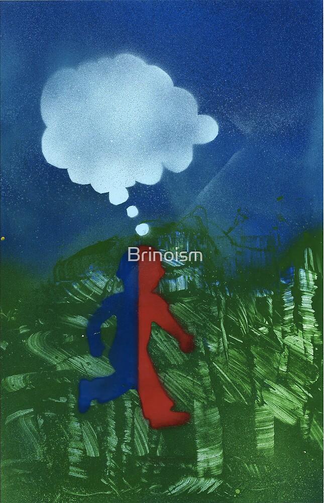 Boy Red/Blue by Brinoism