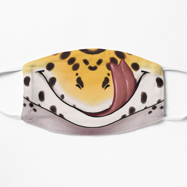 Emotive - Leopard Gecko Lick Happy Flat Mask