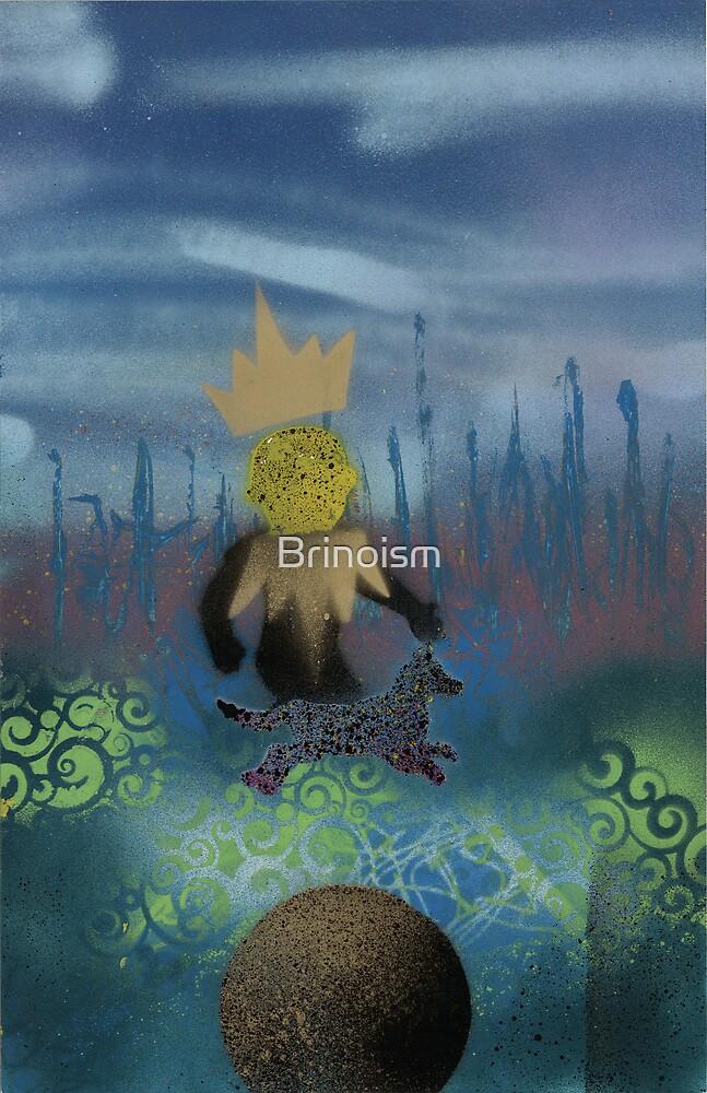Boy Dog Crown by Brinoism
