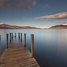 Ashness Jetty, Derwent Water by Brian Kerr