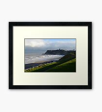 Bad weather moving in. Framed Print
