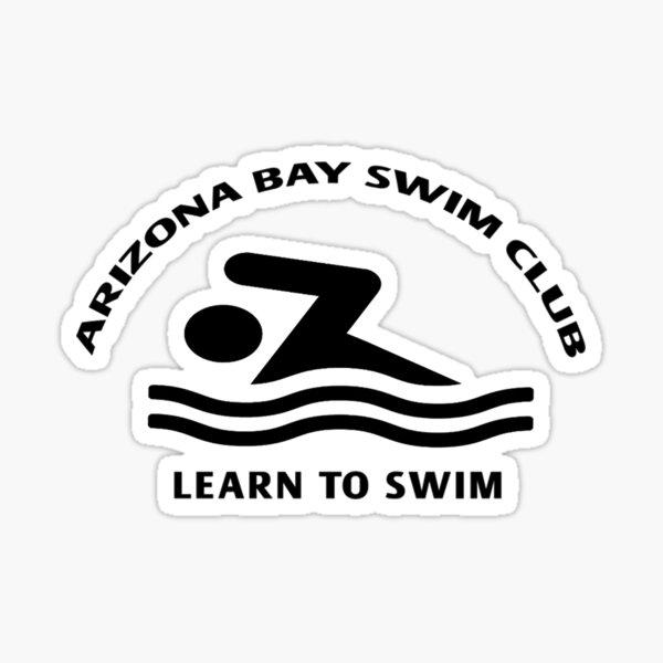 Learn To Swim Arizona Bay Swim Club  Sticker
