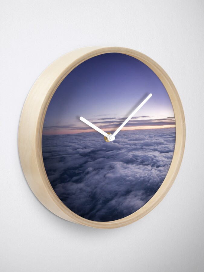 Alternate view of Heaven sky clouds Clock