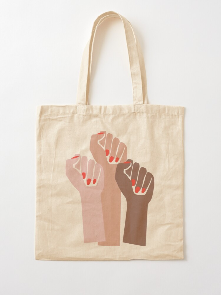 Alternate view of Girl Power Tote Bag