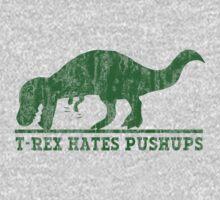 T-Rex Hates Pushup T-Shirt | Unisex T-Shirt