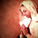 Mary in Prayer by collin
