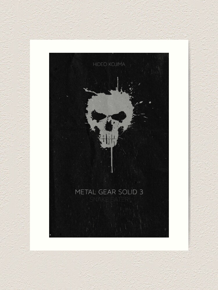 Metal Gear Solid Snake Eater Poster Art Print