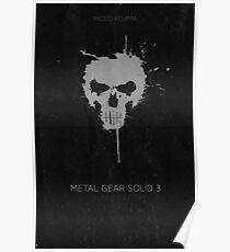 Metal Gear Solid Snake Eater Poster Poster