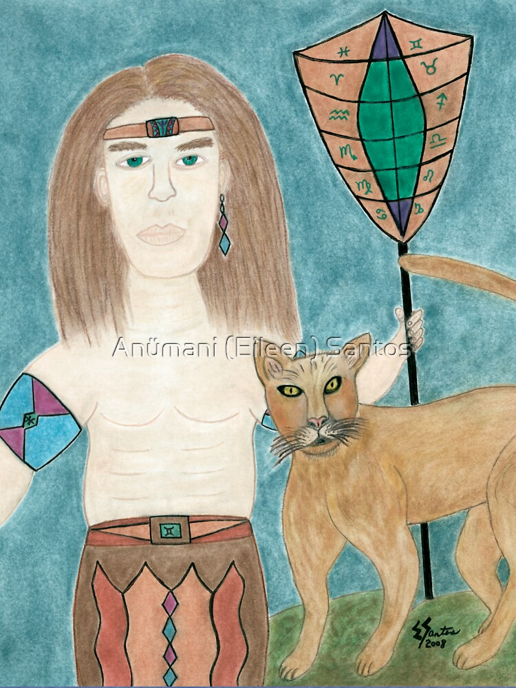 The Cougar Warrior Within by anumani