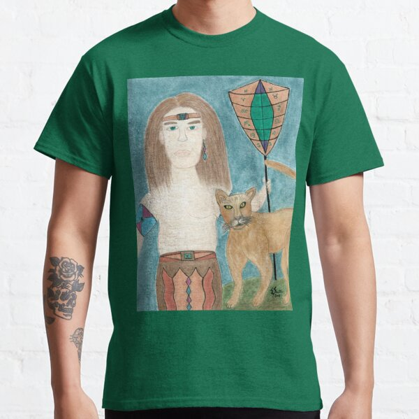 The Cougar Warrior Within Classic T-Shirt